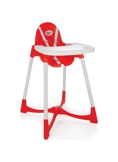 Pilsan Pilsan 7504 Pratik Mama Sandalyesi Yeni Model Kırmızı